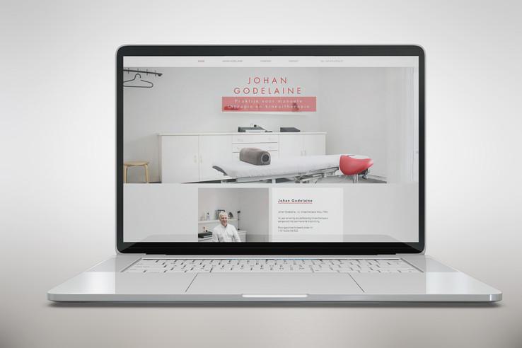 Website Kinesist Johan Godelaine