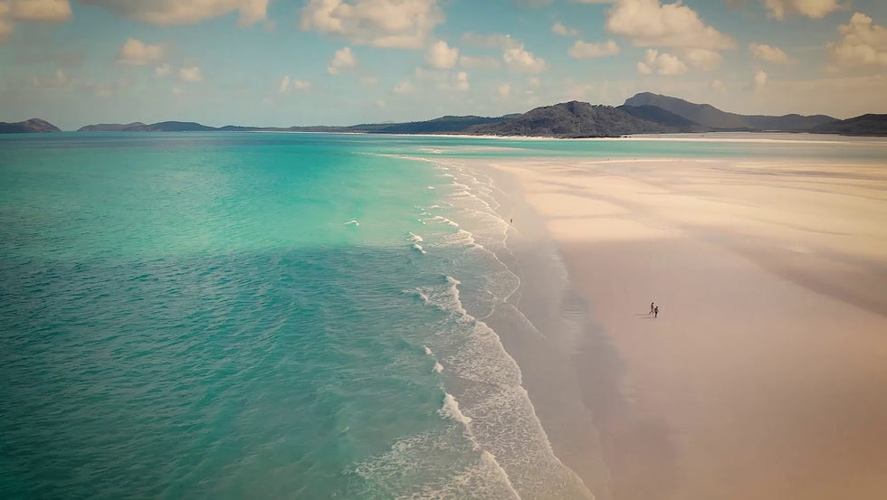 Australia by drone