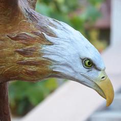 Vincentaa Bronze Eagle Statue