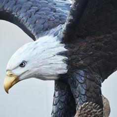 bronze eagle statue5.JPG