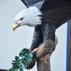 bronze eagle statue4.JPG