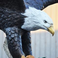 bronze eagle statue3.JPG