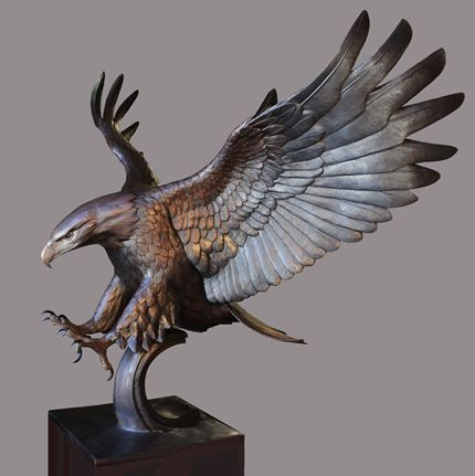 Vincentaa Bronze Eagle Statue 12.jpg
