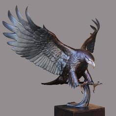 Vincentaa Bronze Eagle Statue 9.jpg