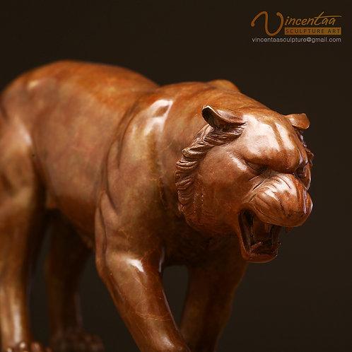 Bronze Tiger Art Sculpture