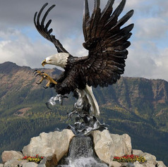 Vincentaa Bronze Eagle Statue 6.jpg