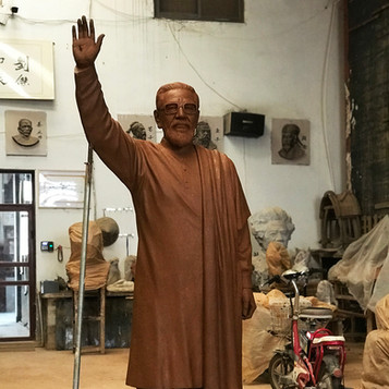 Balasaheb Thackeray Statue Mold