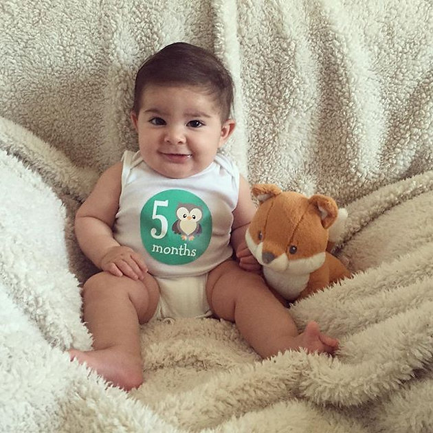 Mateo Is 5 Months Old Sandovalfamily