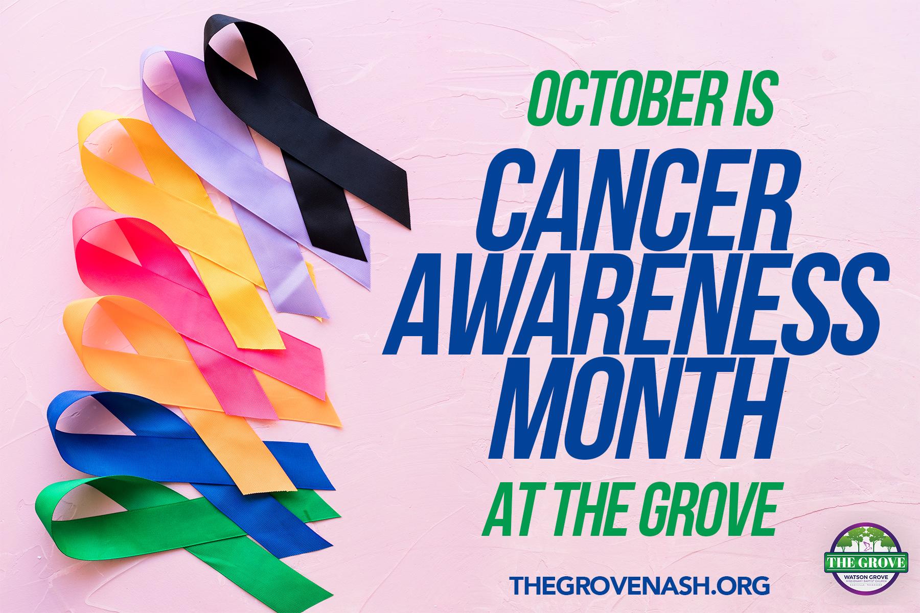 CancerAwarenessMonth
