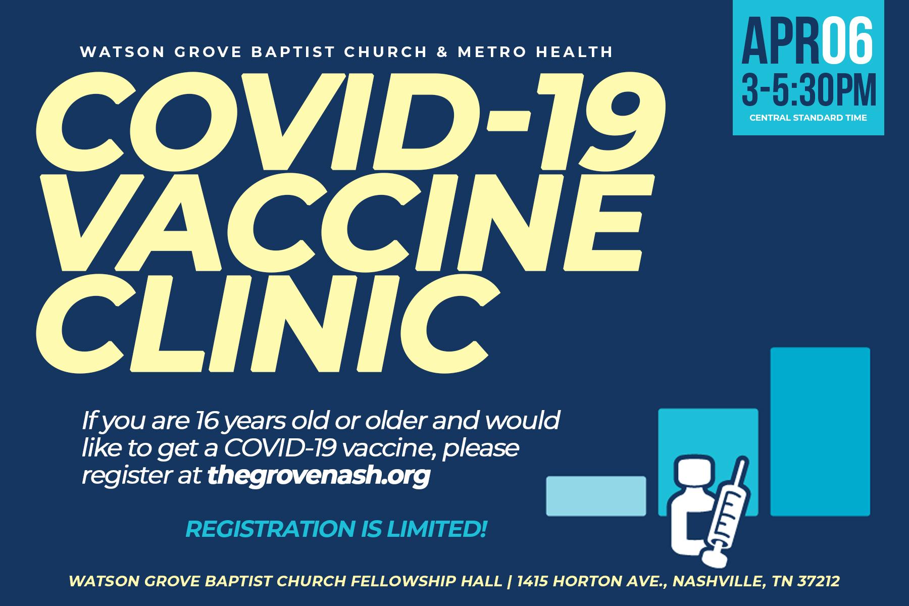 COVID Vaccine CLINIC 16