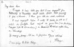 Tennyson letter