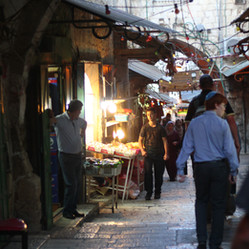 A street in the Old City of Jerusalem