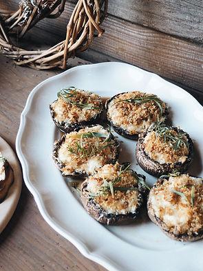 On the Menu: Dungeness Crab Stuffed Mushrooms