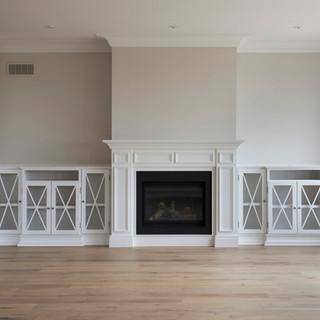 Custom fire place