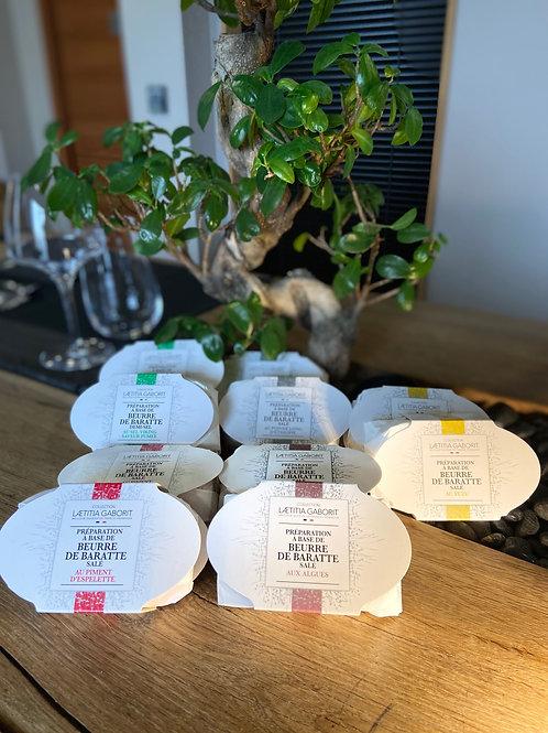 Beurre de Baratte préparé en recette exclusive