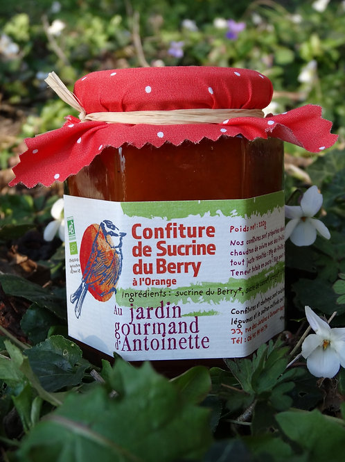 Confiture de Sucrine du Berry à l'Orange