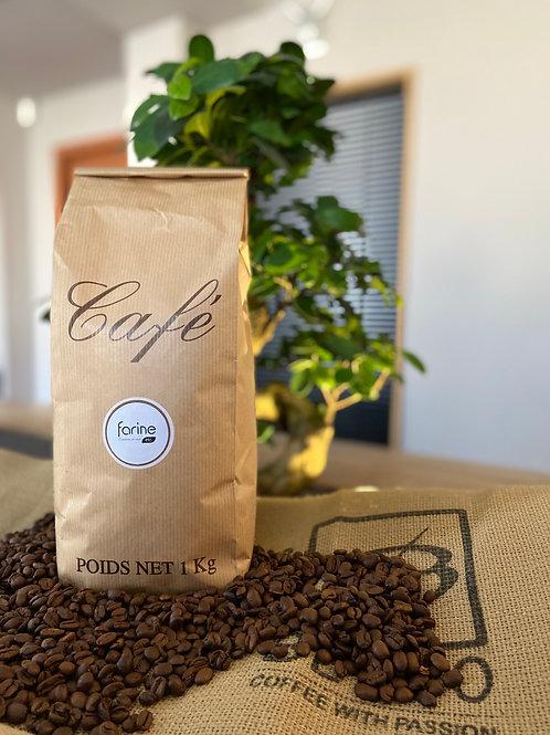 CAFÉ GRAINS ÉTHIOPIE MOKA Origine