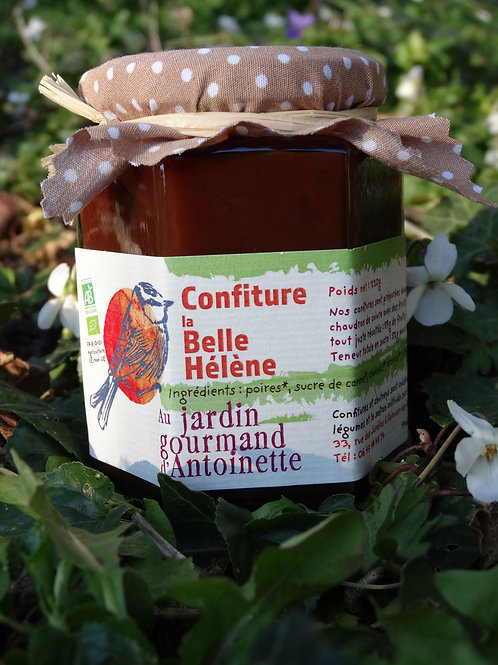 Confiture Belle Hélène Poire Chocolat