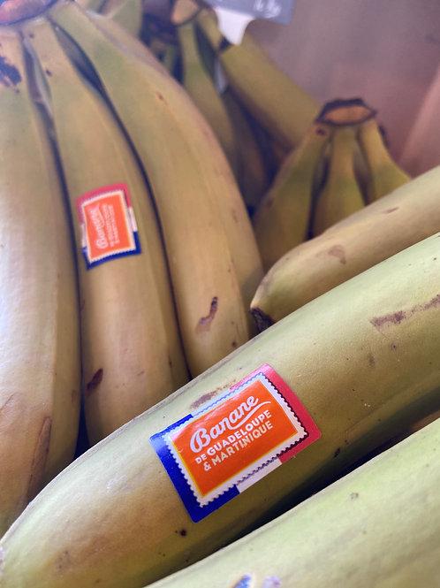 Bananes de Guadeloupe et Martinique