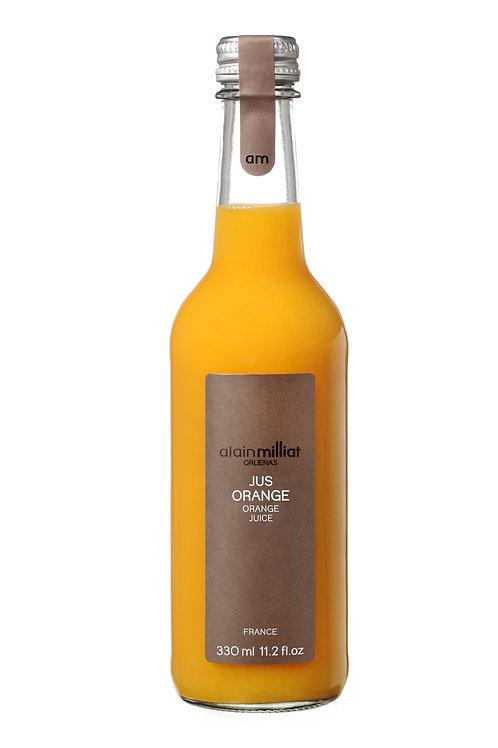 Jus d'Orange blonde de dégustation 100%