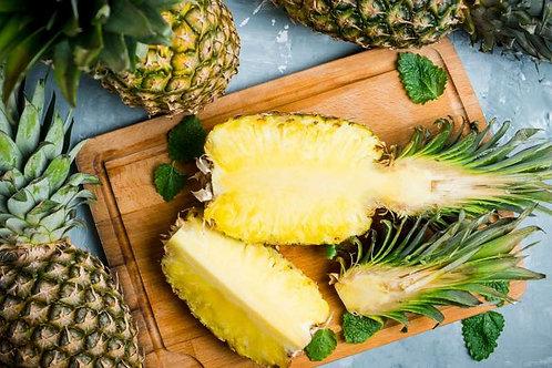 Ananas à maturité.