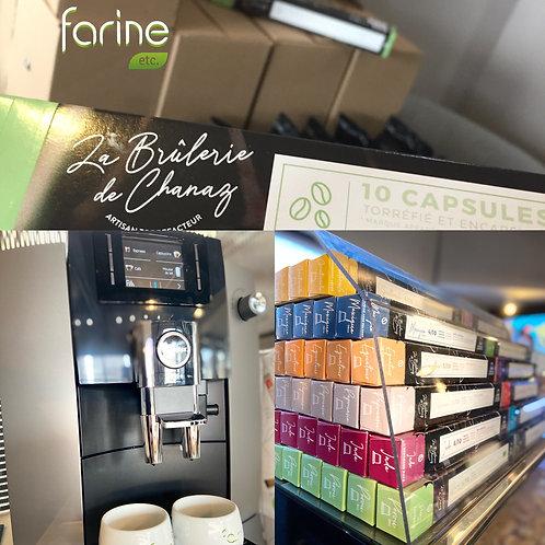 Dosettes cafés de torréfacteur artisanal compatible Nespresso - Les 10 dosettes