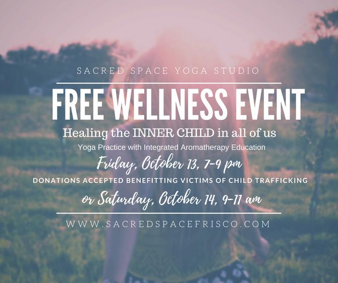 October's Free Restorative Yoga classes happening this weekend