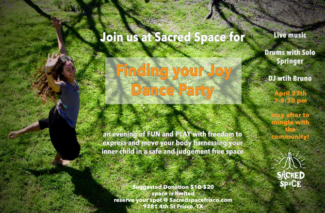 Sacred Space Dance Party