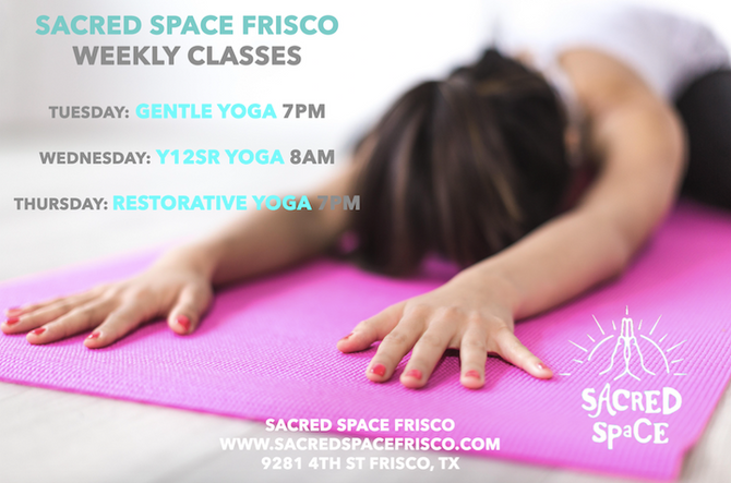 Sacred Space Weekly Classes