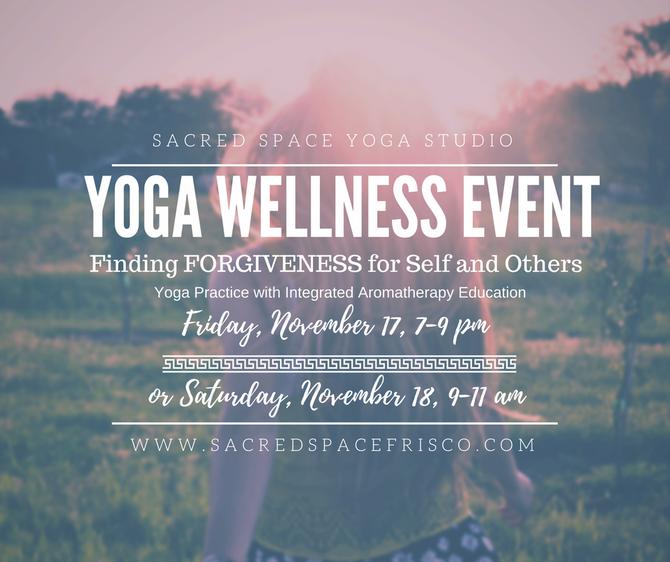 Community Wellness Event:  Finding Forgiveness