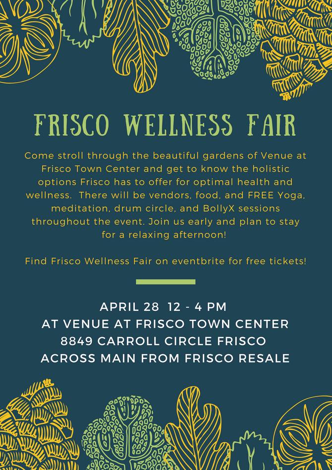 Free Yoga/Drum Circle at Frisco Wellness Fair