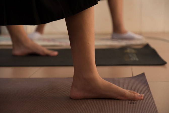 Join us Saturday for free yoga class/yard sale benefitting human trafficking victims