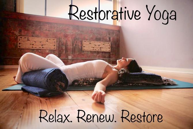 Weekly Restorative Yoga, a Rhythm of Self Care