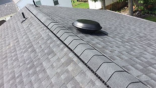 GAF Timberline Charcoal Shingle installed