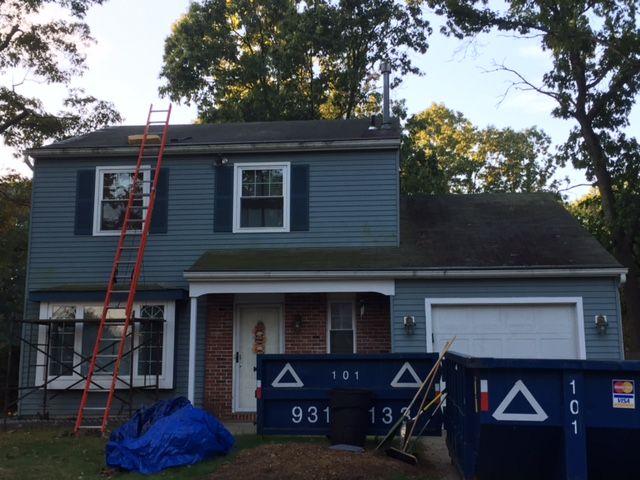 Old Shingle Roof Pine Hill NJ