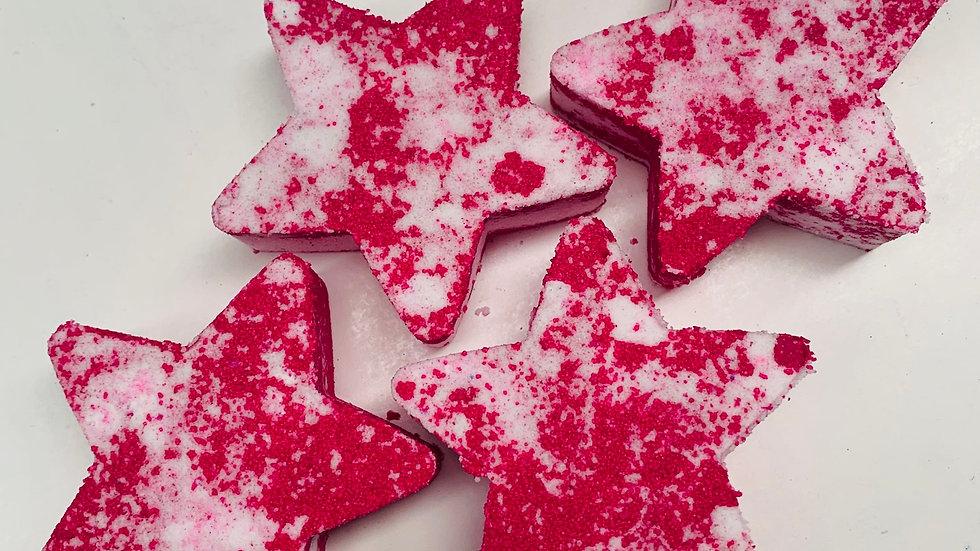 Jingle Bell Berries Stars x6