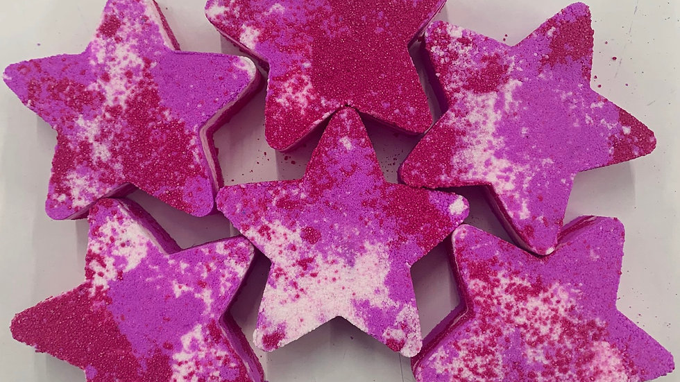 Candy Cane Lane Stars x6