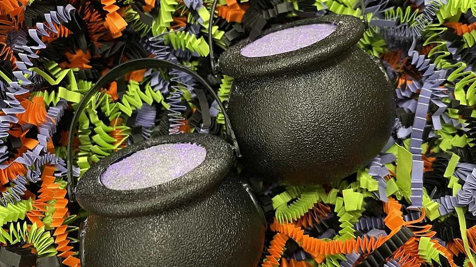 Witches Brew Treat Pot