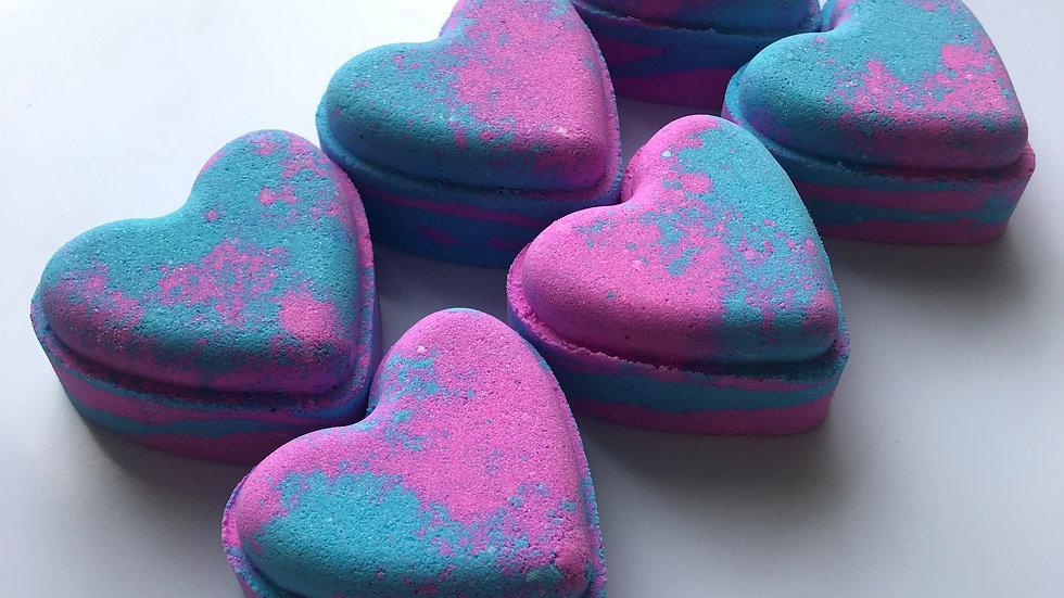 Baby Powder Love Hearts x6