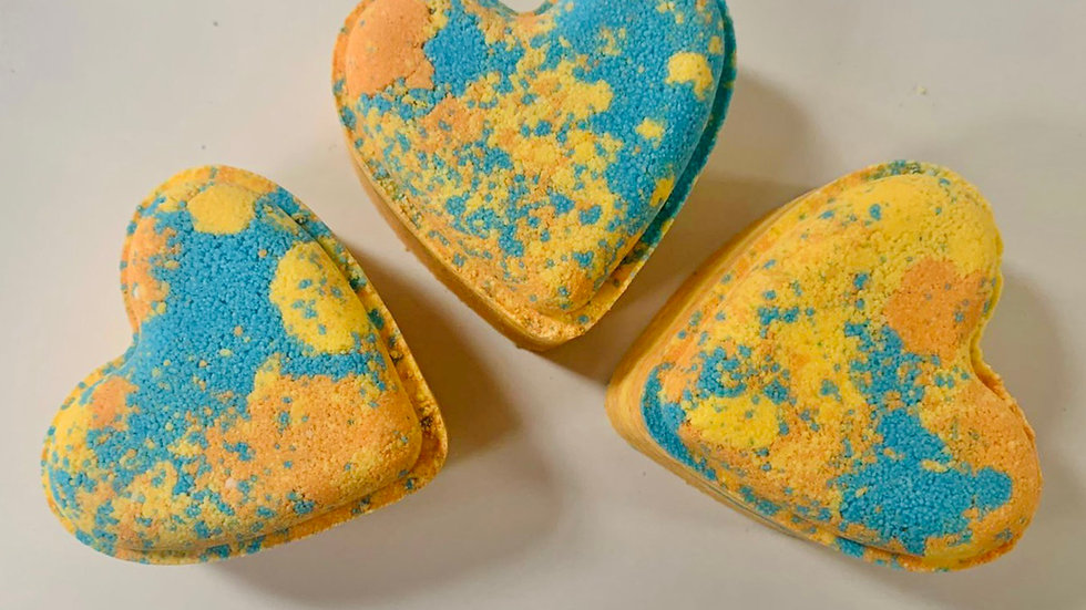 Mango Love Hearts x6