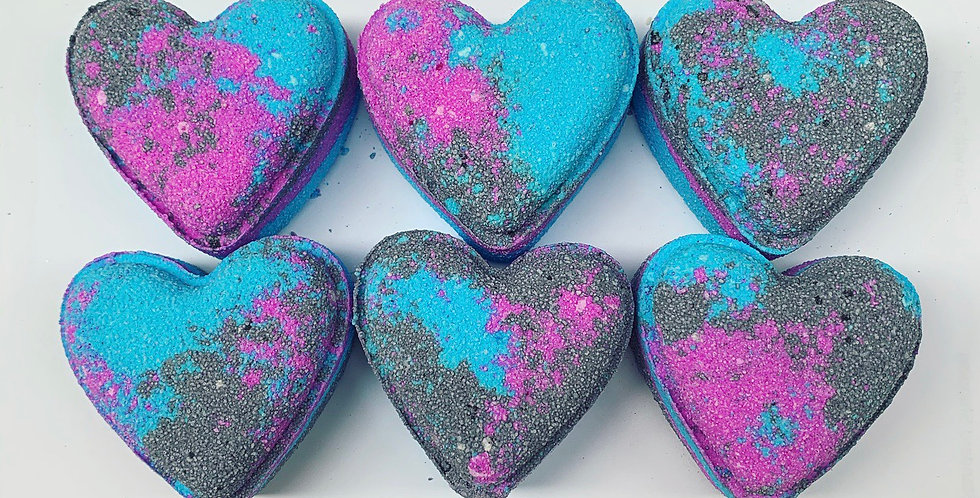 Raspberry Slush Love Heart