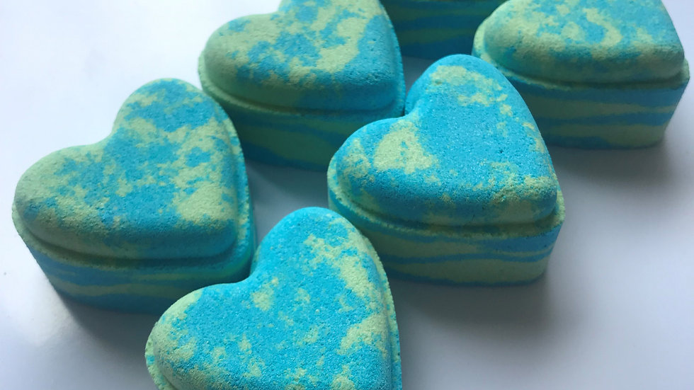 Jelly Bean Love Heart x6