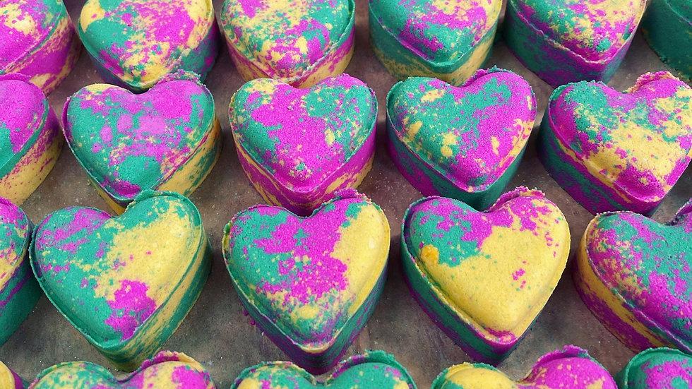 Fruit Salad Love Hearts x6