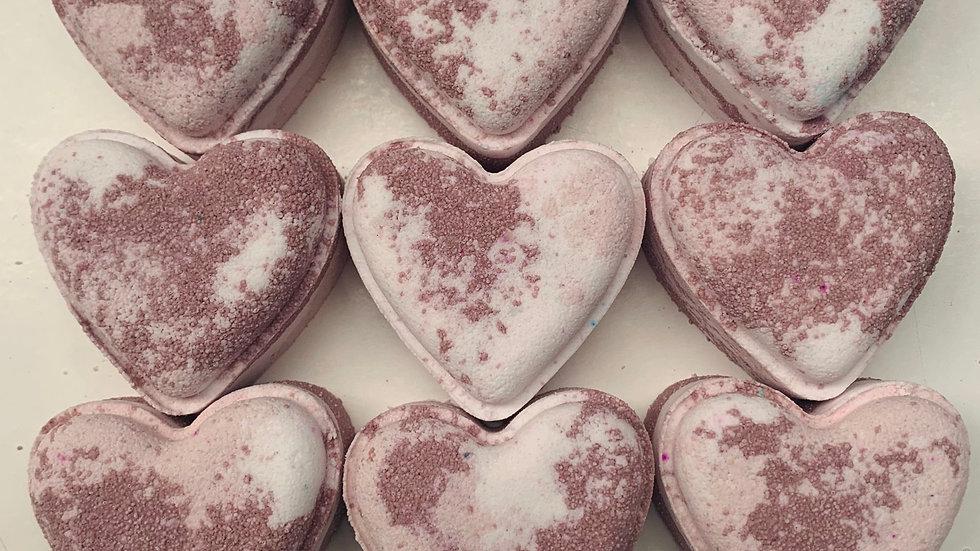 Hot Cocoa Hearts x6