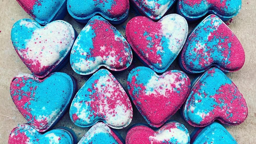 Sweet Shop Love Hearts x6