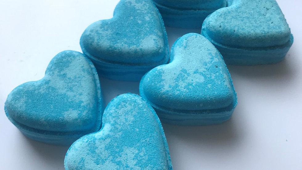 Ocean Musk Love Hearts x6