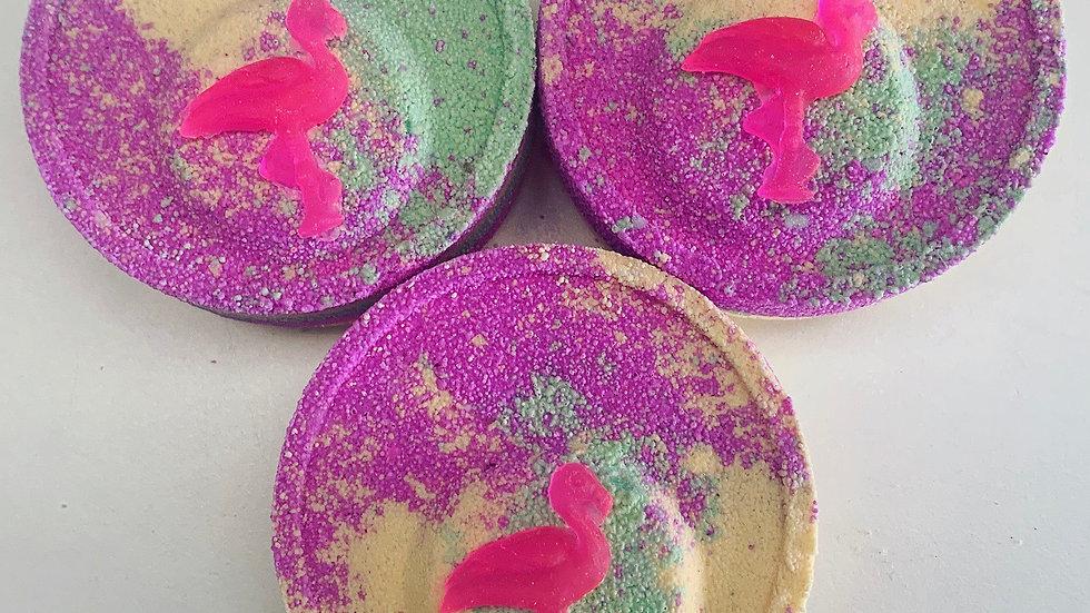 Go Go Flamingo Bath Bombs x6