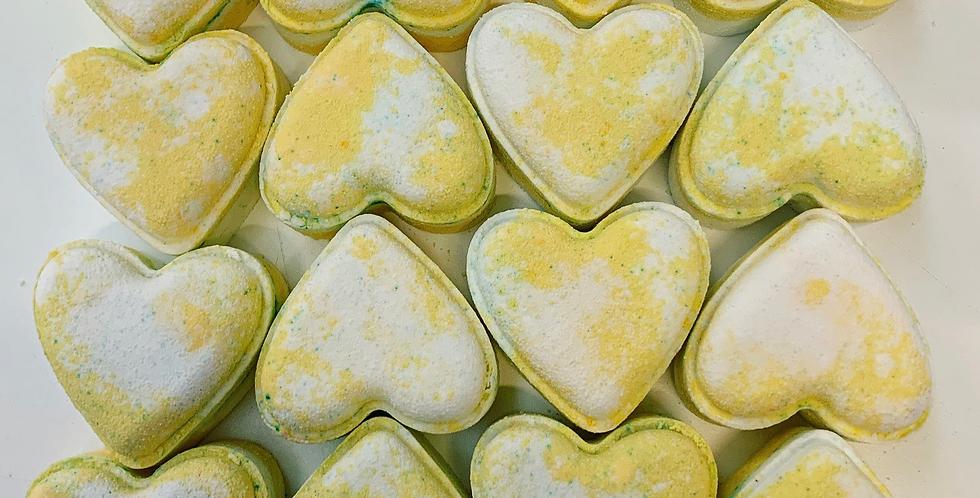 Marshmallow Love Heart