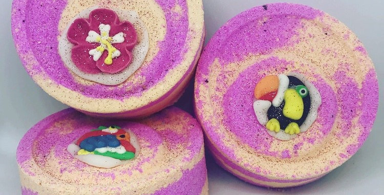 Caribbean Crush Bath Bomb