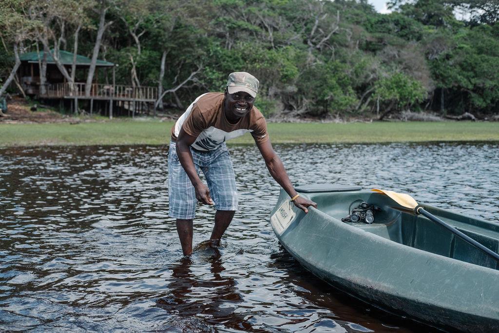 Kayaking Louri River Loango Gabon